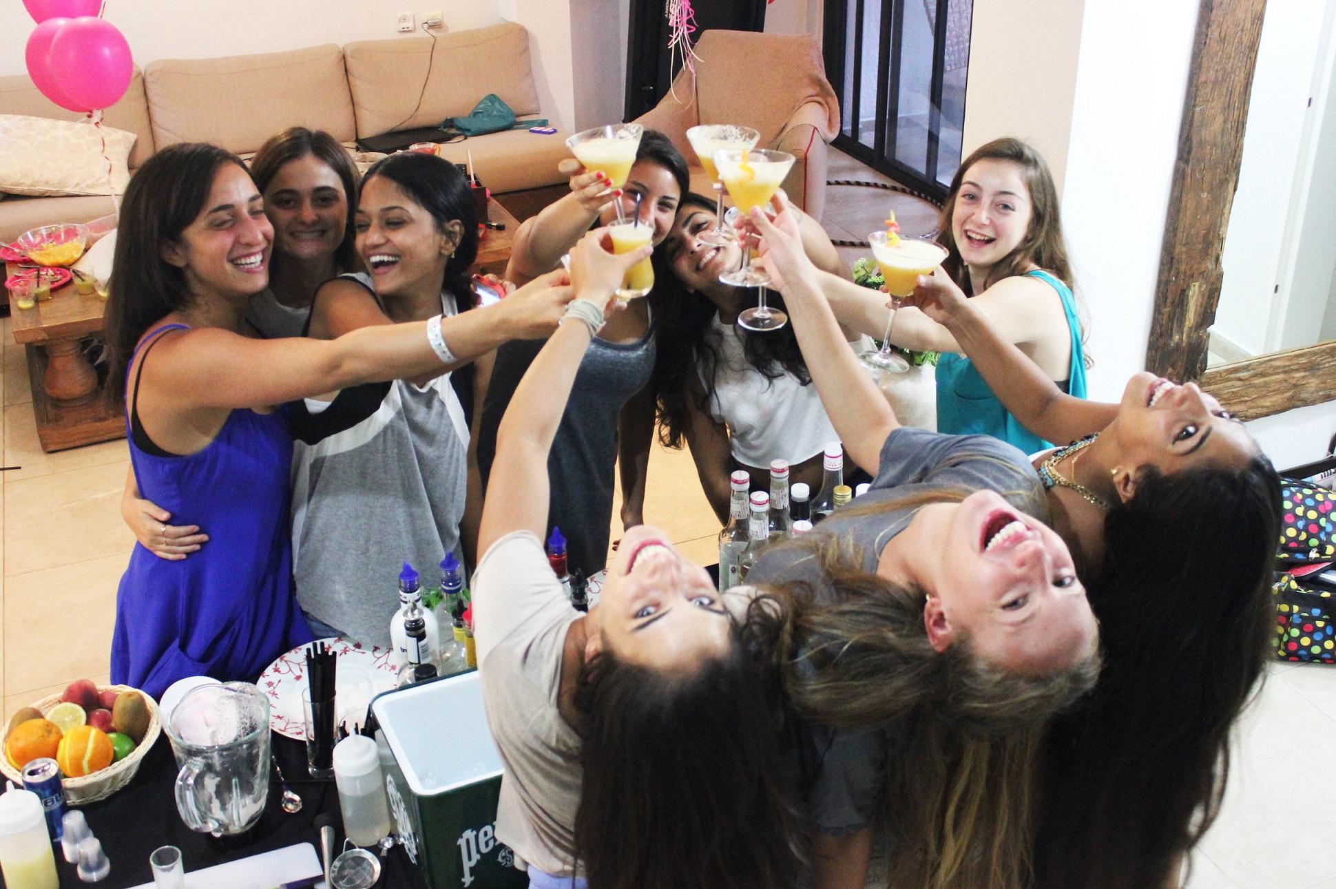 סדנת אלכוהול ליום הולדת
